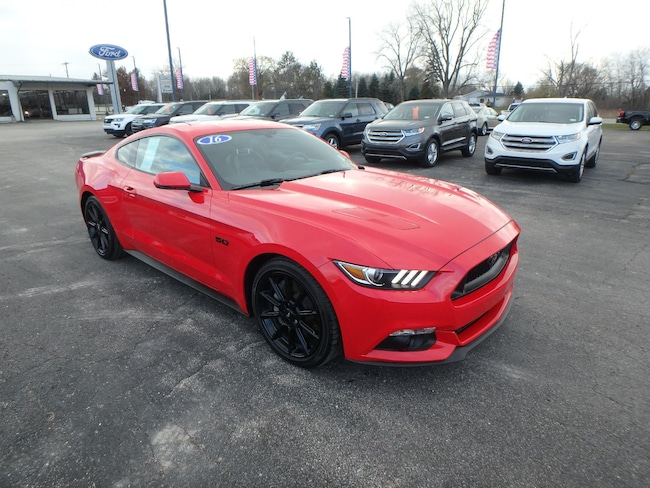 Used 2016 Ford Mustang For Sale Pinconning, Michigan