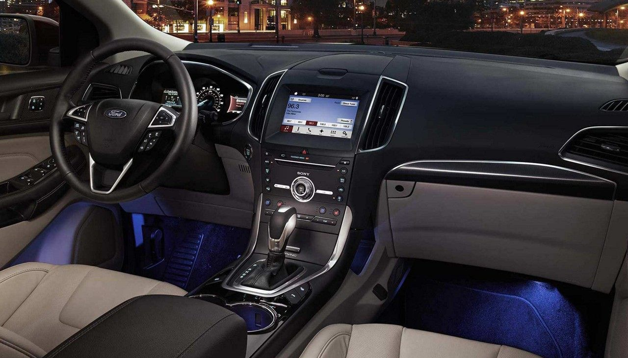 2018 ford edge ambient lighting