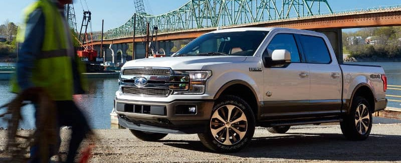 2018 Ford F-150 truck exterior