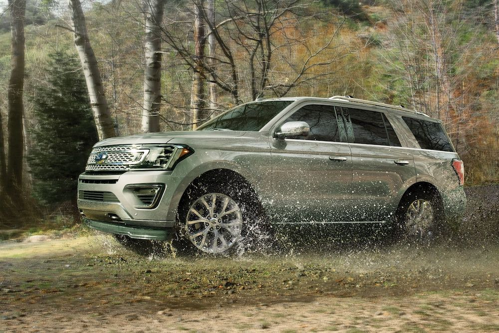 2019 Ford Expedition Off-Roading