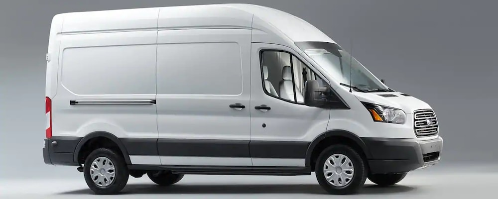2019 Ford Transit in profile