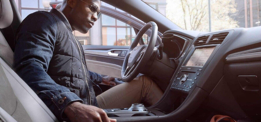 2018 Ford Fusion Sedan Interior