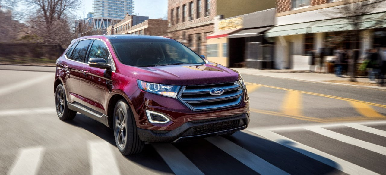 Ford Edge Sel Sport On Street