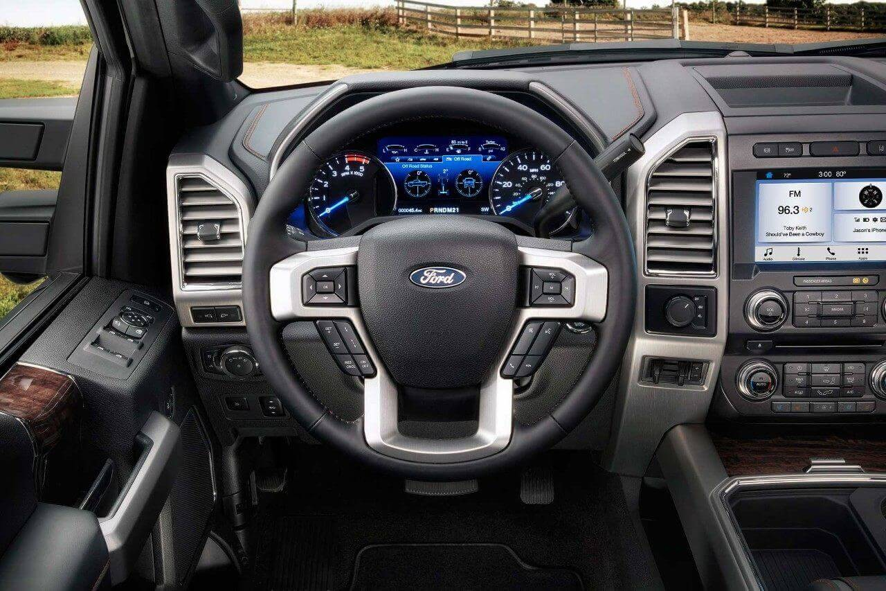 2018 Ford Super Duty Interior