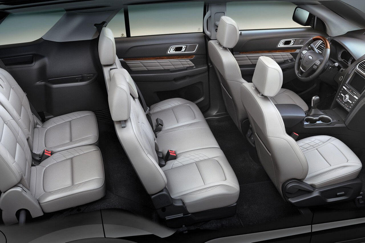 2017 ford explorer second row seats