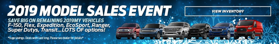2019 Model Sales Event