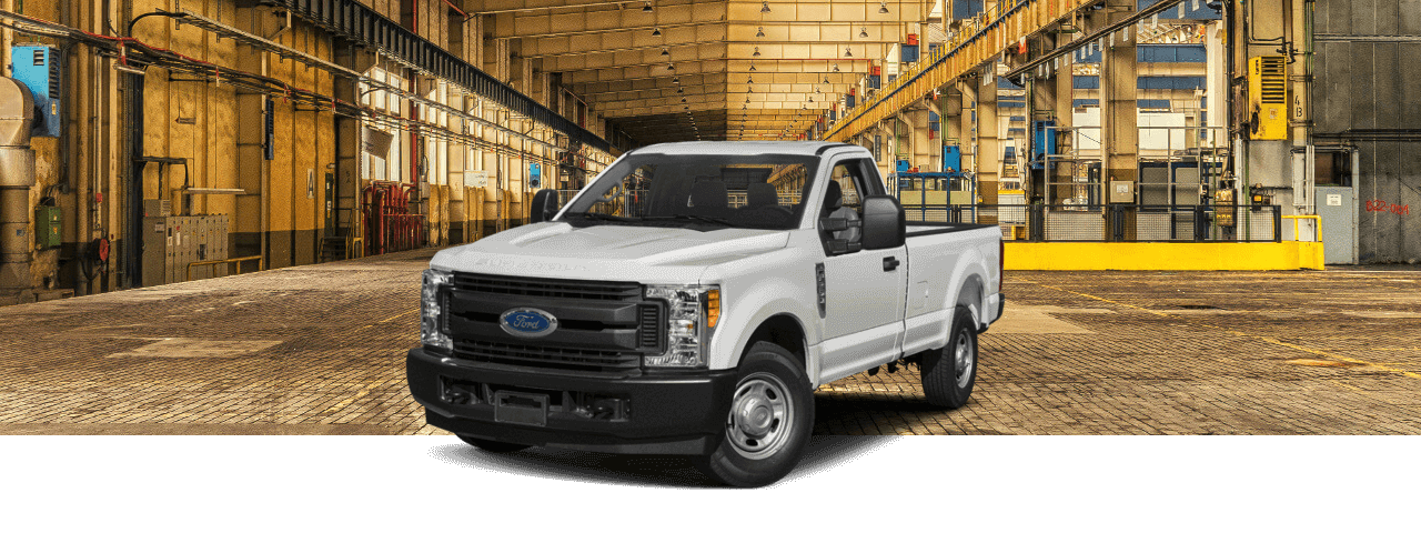 2018 Ford Super Duty on construction site