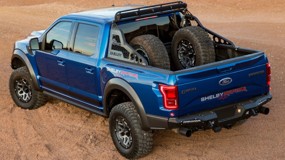 2018 Ford Shelby Baja F-150 Raptor Rear Exterior