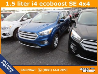 New 2019 Ford Escape SE SUV N5614 in West Branch, MI