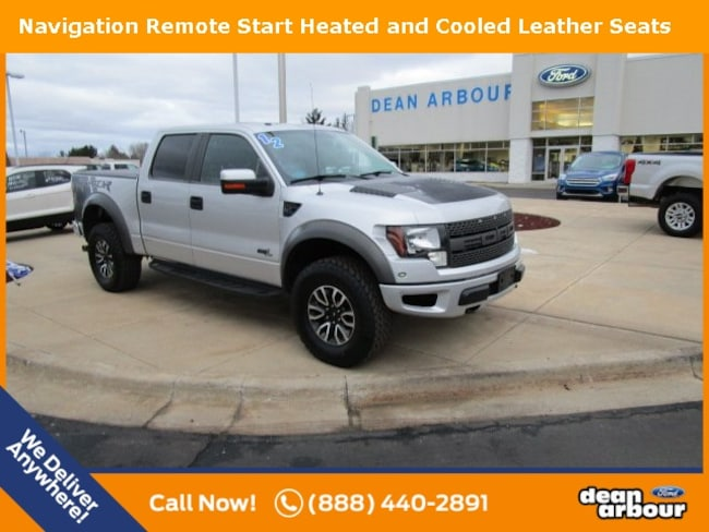 Used 2012 Ford F-150 SVT Raptor Truck in West Branch, MI