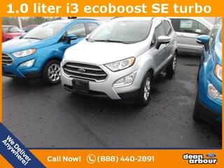 New 2018 Ford EcoSport SE SUV N5027 in West Branch, MI
