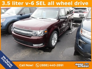 New 2019 Ford Flex SEL SUV N5518 in West Branch, MI