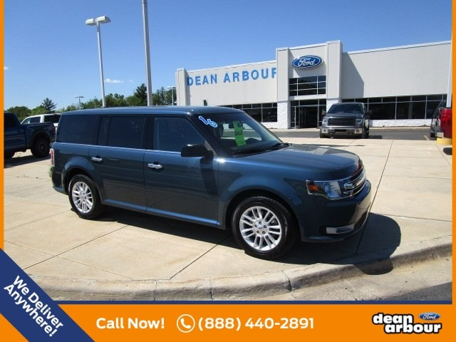 Dean Arbour Ford >> Used 2016 Ford Flex For Sale At Dean Arbour Ford Of West Branch Inc Vin 2fmgk5c88gba07340