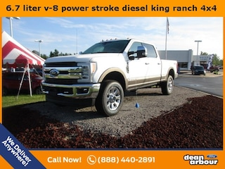 New 2019 Ford F-350SD King Ranch Truck in West Branch, MI