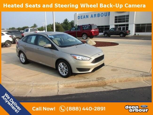 Used 2015 Ford Focus SE Sedan in West Branch, MI