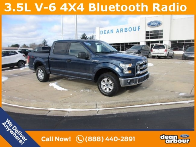 Used 2016 Ford F-150 XLT 4x4 Truck in West Branch, MI