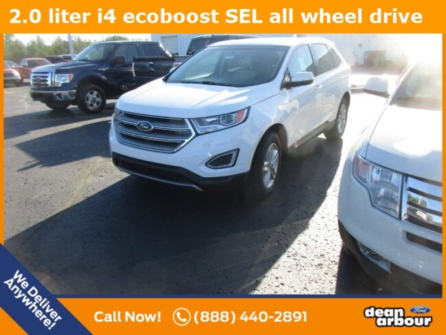 New 2018 Ford Edge SEL SUV in West Branch, MI
