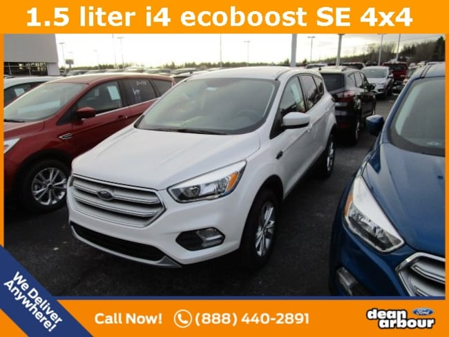New 2019 Ford Escape SE SUV in West Branch, MI