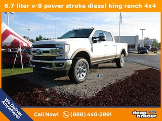 New 2019 Ford F-350SD King Ranch Truck N5272 in West Branch, MI