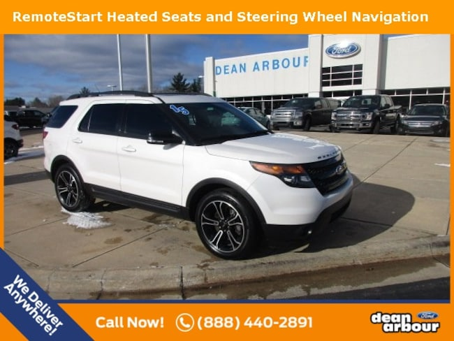 Used 2015 Ford Explorer Sport SUV in West Branch, MI