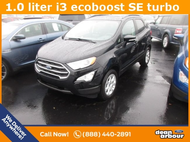 New 2018 Ford EcoSport SE SUV in West Branch, MI