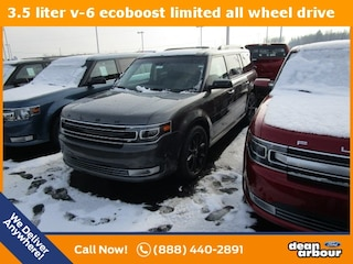 New 2019 Ford Flex Limited SUV N5592 in West Branch, MI