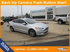 Used 2017 Ford Fusion S Sedan U1179 in West Branch, MI