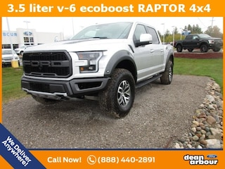 New 2018 Ford F-150 Raptor Truck N5448 in West Branch, MI