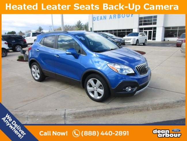 Used 2015 Buick Encore Leather SUV in West Branch, MI