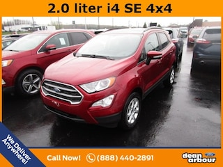 New 2019 Ford EcoSport SE SUV in West Branch, MI
