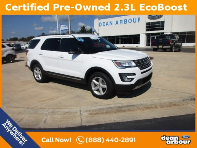 Certified Pre-Owned 2016 Ford Explorer XLT SUV For Sale West Branch, MI