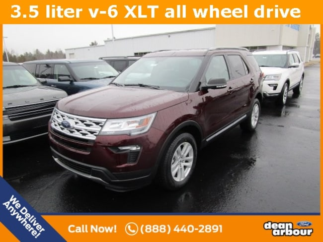 New 2019 Ford Explorer XLT SUV in West Branch, MI