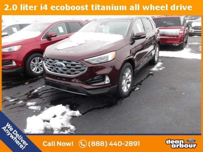 New 2019 Ford Edge Titanium SUV in West Branch, MI
