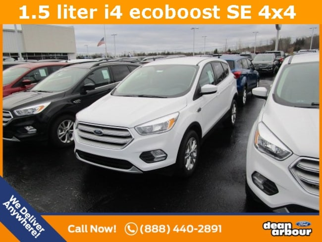 New 2019 Ford Escape SE SUV in West Branch, MI