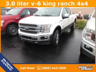 New 2018 Ford F-150 King Ranch Truck N5428 in West Branch, MI