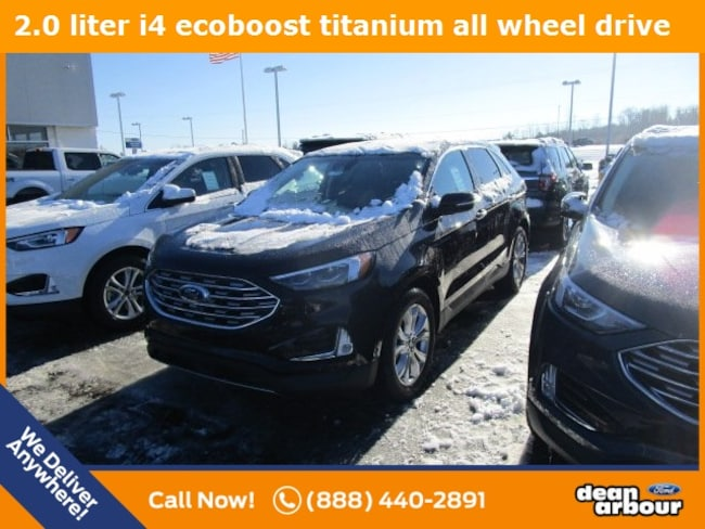 New 2019 Ford Edge Titanium SUV in West Branch, MI