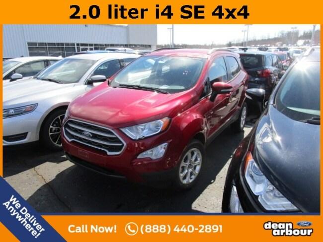 New 2019 Ford EcoSport SE SUV in West Branch, MI