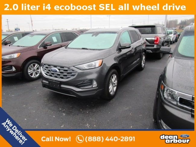 New 2019 Ford Edge SEL SUV in West Branch, MI