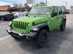 New 2018 Jeep Wrangler UNLIMITED SPORT 4X4 Sport Utility in Bainbridge, GA