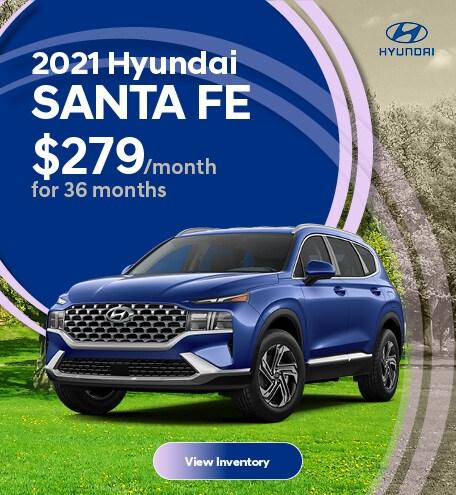 May 2021 Hyundai Santa Fe