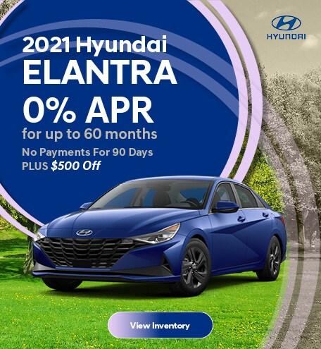 May 2021 Hyundai Elantra