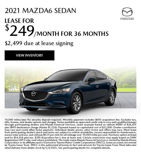 2021 Mazda6 (lease)