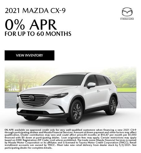 2021 Mazda CX-9 (apr)