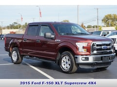 Certified Pre-Owned 2015 Ford F-150 XLT Truck in Troy MI