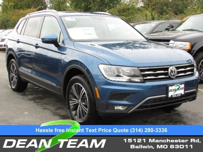 2019 Volkswagen Tiguan 2.0T SEL 4MOTION 2.0T 4MOTION