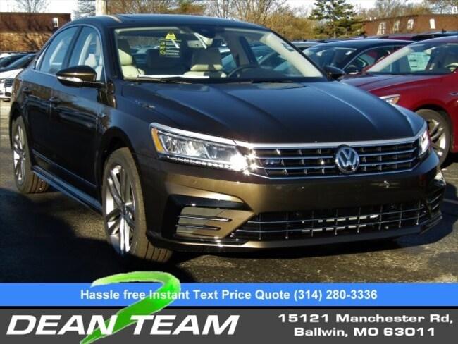 2019 Volkswagen Passat 2.0T SE R-Line Auto Sedan