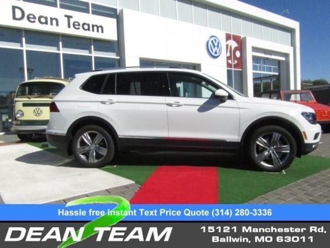 2019 Volkswagen Tiguan SEL Premium 2.0T SEL Premium 4MOTION