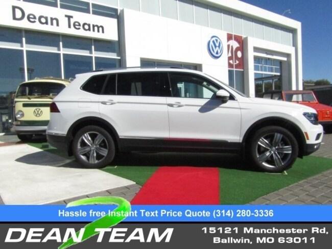 2019 Volkswagen Tiguan SEL Premium 2.0T 4MOTION