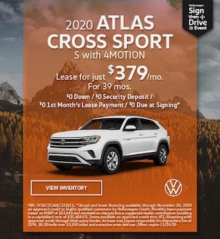 November 2020 ATLAS CROSS SPORT S with 4MOTION Offer