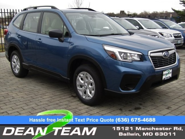 New 2019 Horizon Blue Pearl Subaru Forester For Sale St Louis Mo